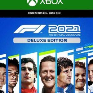 F1 2021 Deluxe Xbox Dostep