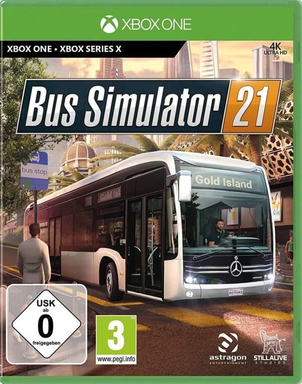 Bus Simulator 21 Dostęp Do konta Xbox