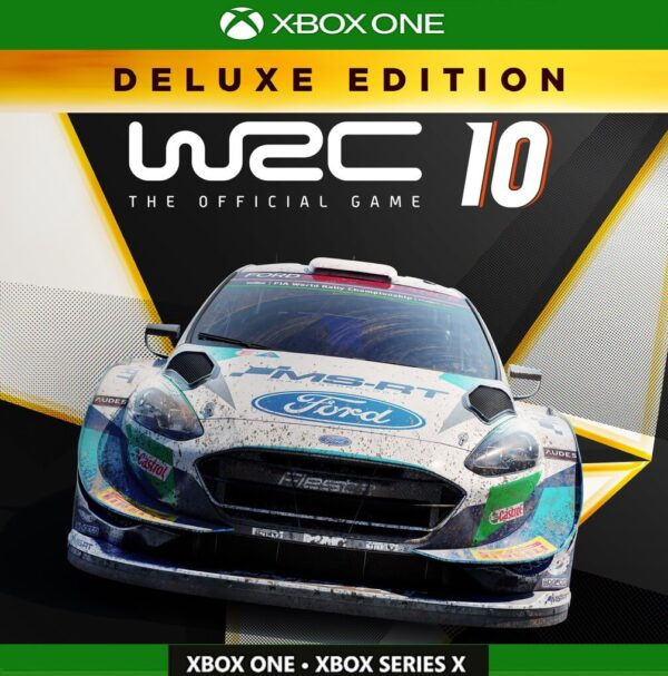 WRC 10 Deluxe Edition Game Account Xbox